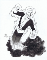 New Mutants 02 Bob McLeod Cannonball HeroesCon 2011 auction Comic Art