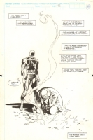 Lee Weeks - Daredevil #300 page 33 Fall of the Kingpin SPLASH Comic Art
