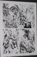 judge dredd 2120 page 12 Comic Art
