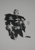judge dredd rpg cover Comic Art