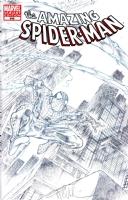 Amazing Spider-man #648 BLANK - Spider-man Sketch - Angel Medina - CGC 9.0 Comic Art