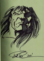 Hulk: World War Hulks HC - Skaar Sketch - Paul Pelletier Comic Art
