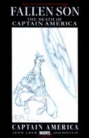 Fallen Son Blank - Captain America Sketch - Angel Medina - CGC 9.0 Comic Art