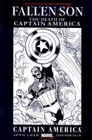 Fallen Son Blank - Captain America Sketch - Tom Derrenick - CGC 8.5 Comic Art