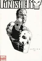 Punisher #1 Blank - Punisher Sketch - Lewis LaRosa Comic Art