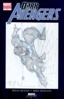 Dark Avengers Blank - Spider-Man Sketch - Angel Medina - CGC 9.2 Comic Art