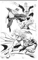 Justice League of America - JAM Comic Art
