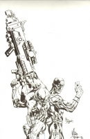 Punisher & Bullseye, Comic Art