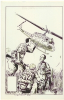 The Nam cover Comic Art