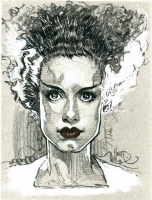 Bride of Frankenstein, Comic Art