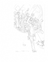 Jack of Fables # 1 prelim, Comic Art