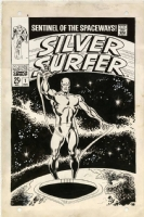 Silver Surfer #1 cover - John Buscema Comic Art