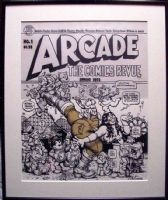 Arcade #1 Robert Crumb Comic Art