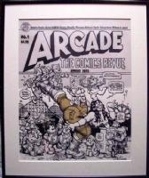 Arcade #1 Robert Crumb Comic Art