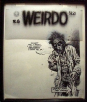 Weirdo #8 - Robert Crumb Comic Art