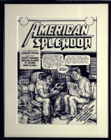 American Splendor - Robert Crumb Comic Art