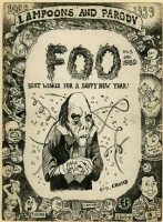FOO #5 (1959) Original Cover Art - ROBERT & CHARLES CRUMB Comic Art