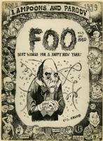 FOO #5 (1959) Original Cover Art - ROBERT & CHARLES CRUMB Comic Art
