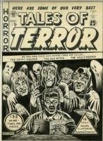 TALES OF TERROR ANNUAL #1 (1951) Cover Art - AL FELDSTEIN Comic Art