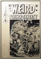 Weird Science-Fantasy #27 - Wally Wood Comic Art