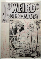 Weird Science-Fantasy #25 cover - Al Williamson Comic Art