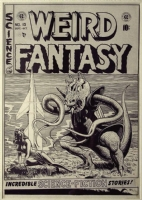 Weird Fantasy #15 cover - Al Feldstein Comic Art