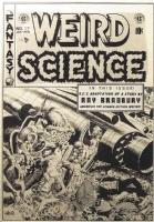 Weird Science #17 - Wally Wood Comic Art