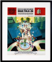 AL JAFFEE - MAD #284 Fold-In: Radar Detector - 1989 Comic Art