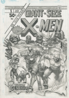 Giant-Size X-Men #1 Old Man Logan Cover Recreation By Rags Morales, Comic Art