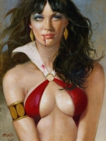 Enric - Vampirella: A Yearning - Enrich Comic Art