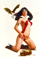 Enric - Vampirella - The Thirst Comic Art