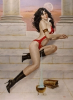 Enric - Vampirella - Evening's Interlude Comic Art