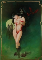 Vampirella - Whisper of Defiance Comic Art