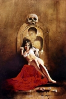 Vampirella - Cover of VAMPIRELLA #35 Comic Art