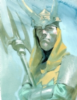 Esad Ribic - Loki Comic Art