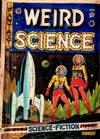 Weird Science #7, Cover for Russ Cochran HC Reprints, Comic Art