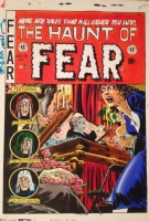 Haunt of Fear #15 Cover for Russ Cochran HC Reprints, Comic Art