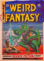 Weird Fantasy #15 Cover for Russ Cochran HC Reprints, Comic Art