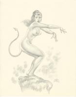 Devil Girl by Ray Lago, Comic Art