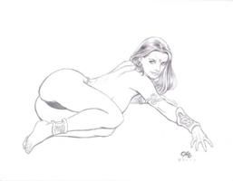 2000 Dejah Thoris by Frank Cho Comic Art
