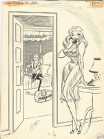 Bill Ward Newlyweds, Comic Art