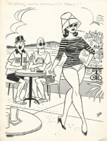 Dan DeCarlo: It's Fanny!, Comic Art