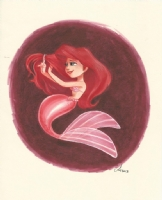 Little Mermaid by Amy Mebberson, Comic Art