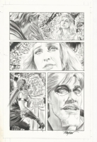 Mike Mayhew, Green Arrow Meets His Mom's Ghost, Comic Art