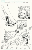 Xmen Forever #14 P18, Comic Art