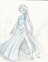 Elsa by Eric Matos, Comic Art