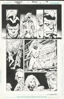 Justice League International #9 Page 13, Comic Art