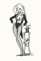 Cherry Poptart as Zatanna, Comic Art