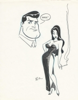 Gosh! By Bruce Timm, Comic Art