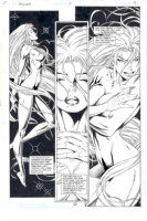 Artemis Requiem Uncensored Comic Art